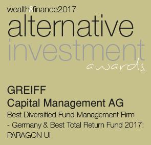 Alternative Investment award 2017