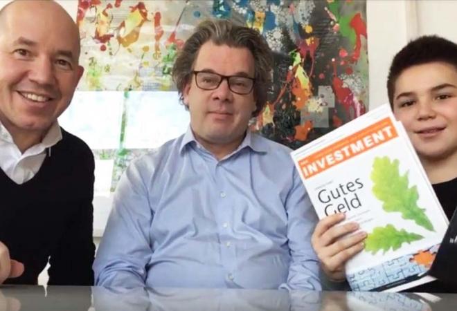 Tim und Volker Schilling bei Das Investment